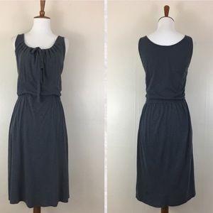 Athleta gray sleeveless casual dress. Size M